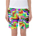 Irritation Colorful Dream Women s Basketball Shorts View1