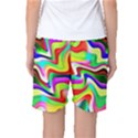 Irritation Colorful Dream Women s Basketball Shorts View2