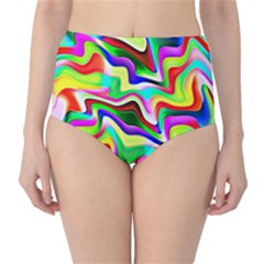 Irritation Colorful Dream High Waist Bikini Bottoms