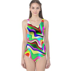 Irritation Colorful Dream One Piece Swimsuit