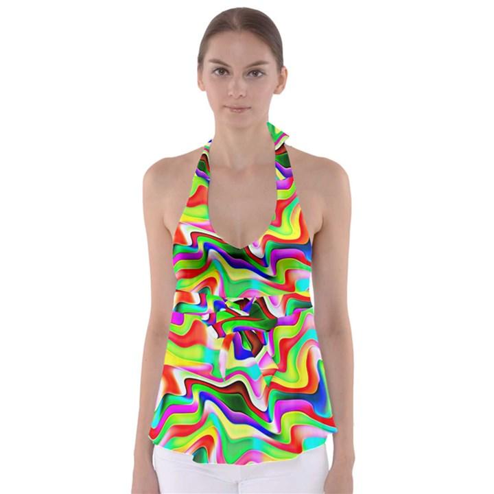 Irritation Colorful Dream Babydoll Tankini Top