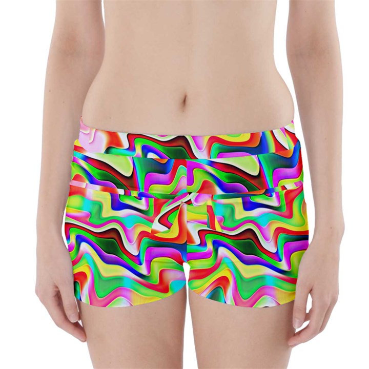 Irritation Colorful Dream Boyleg Bikini Wrap Bottoms