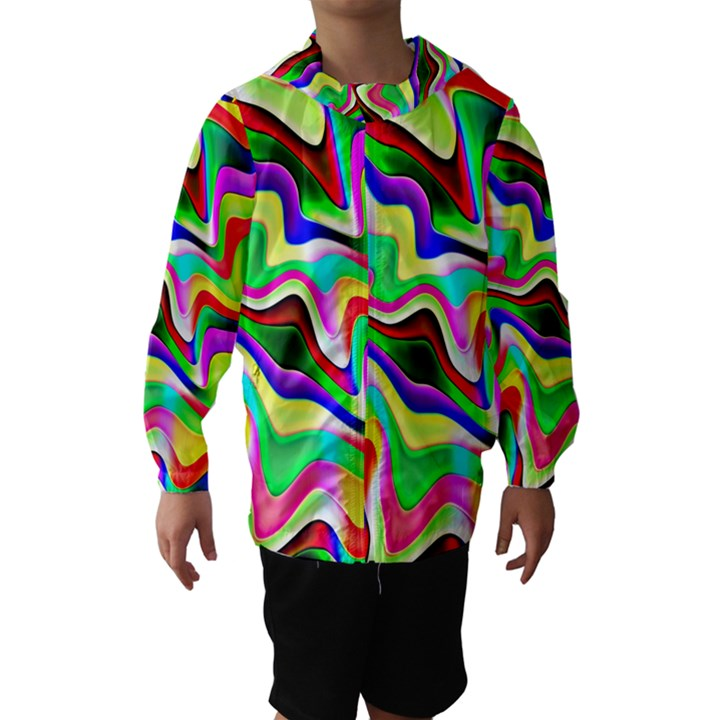 Irritation Colorful Dream Hooded Wind Breaker (Kids)