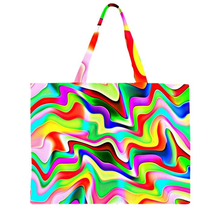 Irritation Colorful Dream Large Tote Bag