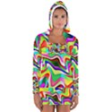 Irritation Colorful Dream Women s Long Sleeve Hooded T-shirt View1