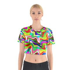Irritation Colorful Dream Cotton Crop Top