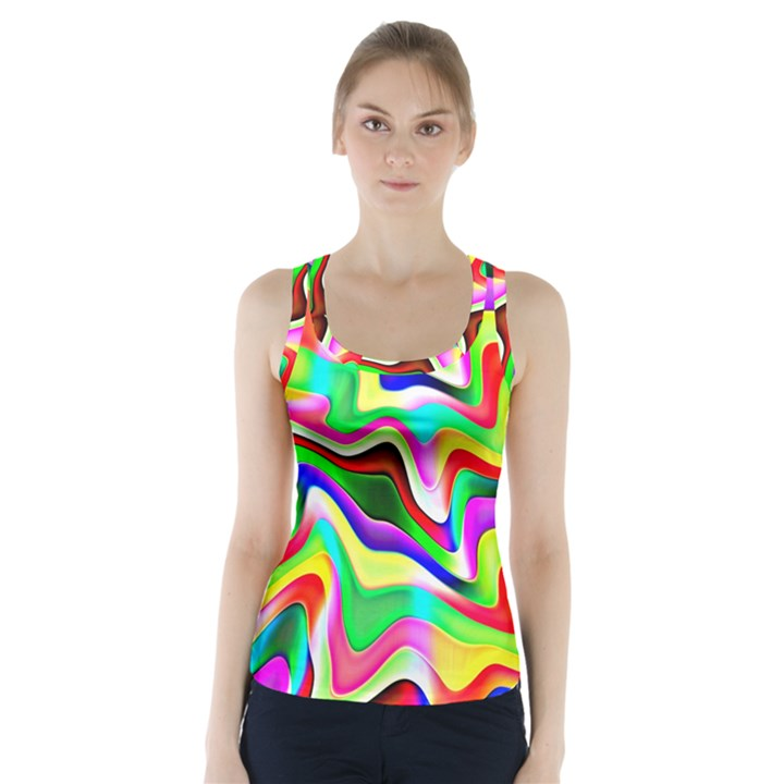 Irritation Colorful Dream Racer Back Sports Top