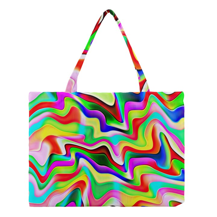 Irritation Colorful Dream Medium Tote Bag