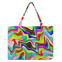 Irritation Colorful Dream Medium Zipper Tote Bag