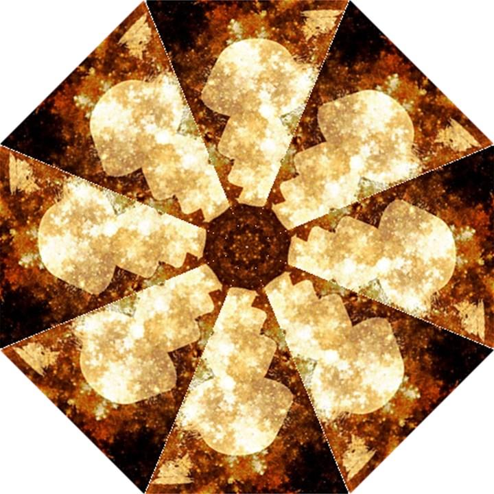Sparkling Lights Folding Umbrellas