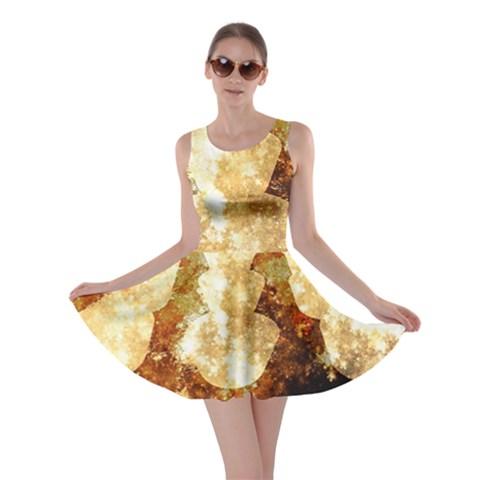 Sparkling Lights Skater Dress