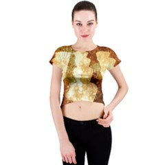 Sparkling Lights Crew Neck Crop Top