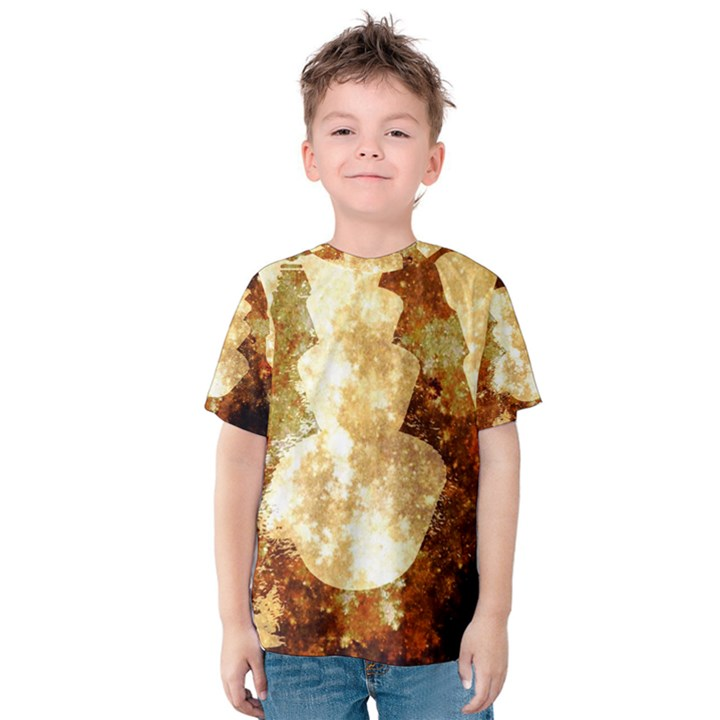 Sparkling Lights Kids  Cotton Tee
