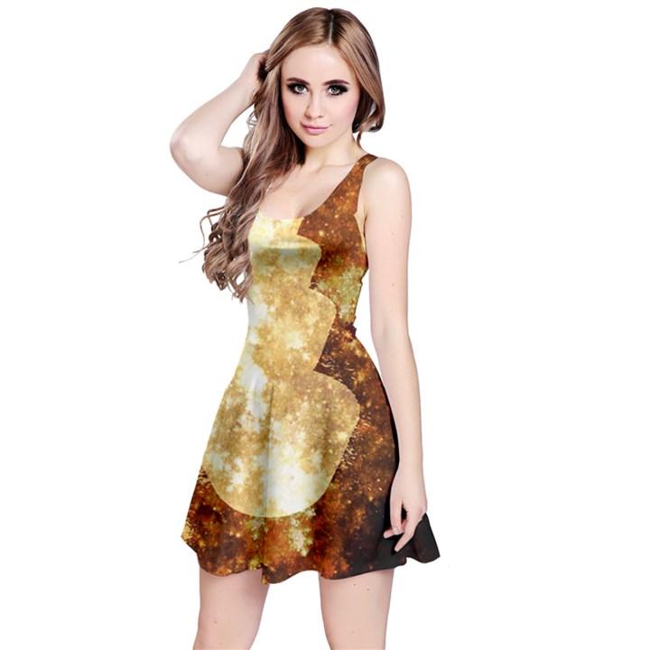 Sparkling Lights Reversible Sleeveless Dress