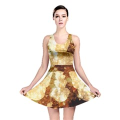 Sparkling Lights Reversible Skater Dress