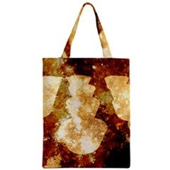 Sparkling Lights Zipper Classic Tote Bag