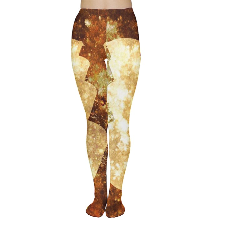 Sparkling Lights Women s Tights