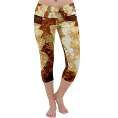 Sparkling Lights Capri Yoga Leggings
