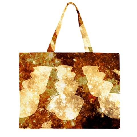 Sparkling Lights Large Tote Bag