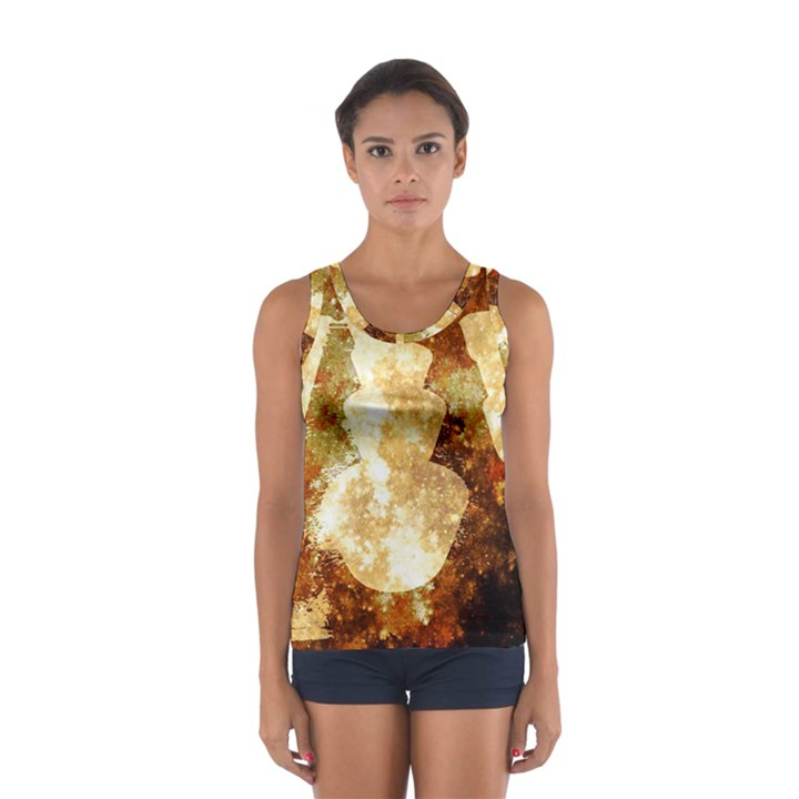 Sparkling Lights Women s Sport Tank Top