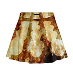 Sparkling Lights Mini Flare Skirt