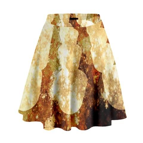 Sparkling Lights High Waist Skirt