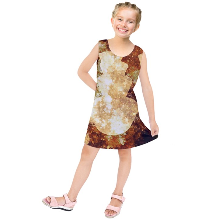 Sparkling Lights Kids  Tunic Dress