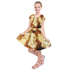 Sparkling Lights Kids  Short Sleeve Dress