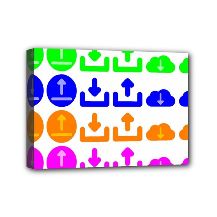 Download Upload Web Icon Internet Mini Canvas 7  x 5