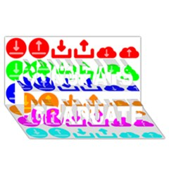 Download Upload Web Icon Internet Congrats Graduate 3D Greeting Card (8x4)
