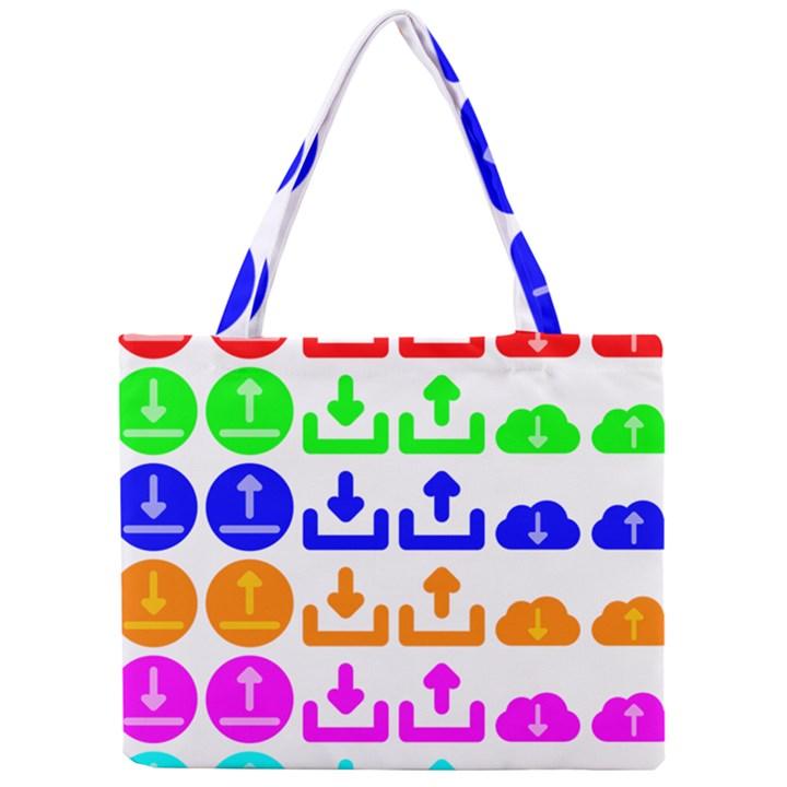 Download Upload Web Icon Internet Mini Tote Bag