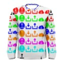 Download Upload Web Icon Internet Men s Long Sleeve Tee View1