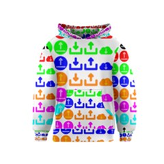 Download Upload Web Icon Internet Kids  Pullover Hoodie