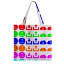 Download Upload Web Icon Internet Zipper Grocery Tote Bag View1