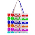Download Upload Web Icon Internet Zipper Grocery Tote Bag View2