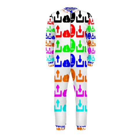 Download Upload Web Icon Internet OnePiece Jumpsuit (Kids)
