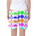 Download Upload Web Icon Internet Women s Basketball Shorts View2