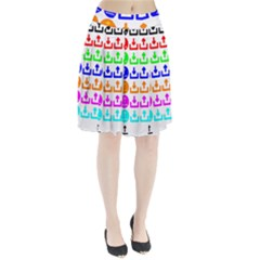 Download Upload Web Icon Internet Pleated Skirt