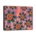 Colorful Floral Dream Canvas 10  x 8  View1