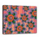 Colorful Floral Dream Canvas 20  x 16  View1