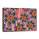 Colorful Floral Dream Canvas 18  x 12  View1