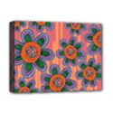 Colorful Floral Dream Deluxe Canvas 16  x 12   View1