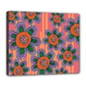 Colorful Floral Dream Deluxe Canvas 24  x 20   View1