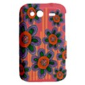 Colorful Floral Dream HTC Wildfire S A510e Hardshell Case View2