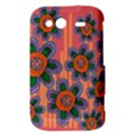 Colorful Floral Dream HTC Wildfire S A510e Hardshell Case View3