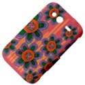 Colorful Floral Dream HTC Wildfire S A510e Hardshell Case View4