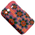 Colorful Floral Dream HTC Wildfire S A510e Hardshell Case View5