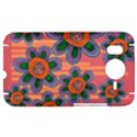 Colorful Floral Dream HTC Desire HD Hardshell Case  View1