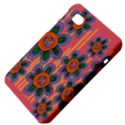 Colorful Floral Dream Samsung Galaxy Tab 7  P1000 Hardshell Case  View4