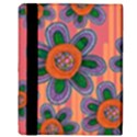 Colorful Floral Dream Apple iPad Mini Flip Case View3